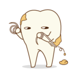 歯ブラシとデンタルフロスどちらを先にするべき?
